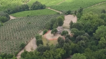 Aerial view of Fonte Martino
