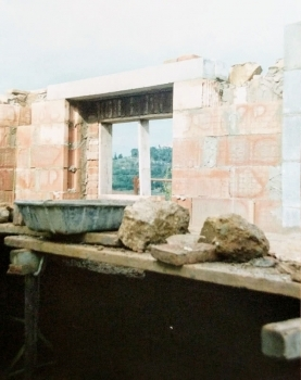 Photo Treasures: Fonte Martino Kitchen Renovation 1992