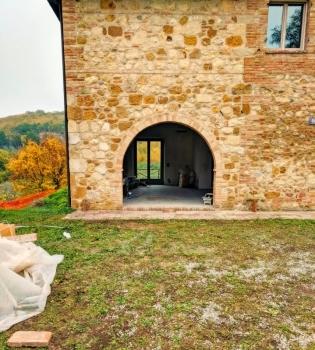 Ellens Arched Door Renovation