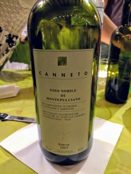 Canneto Winery in Montepulciano
