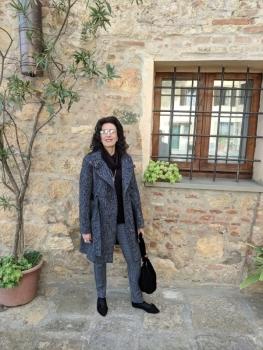 Cathy meets Montepulciano