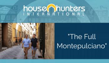 HGTV The Full Montepulciano
