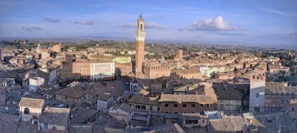 Siena Italy Skyline