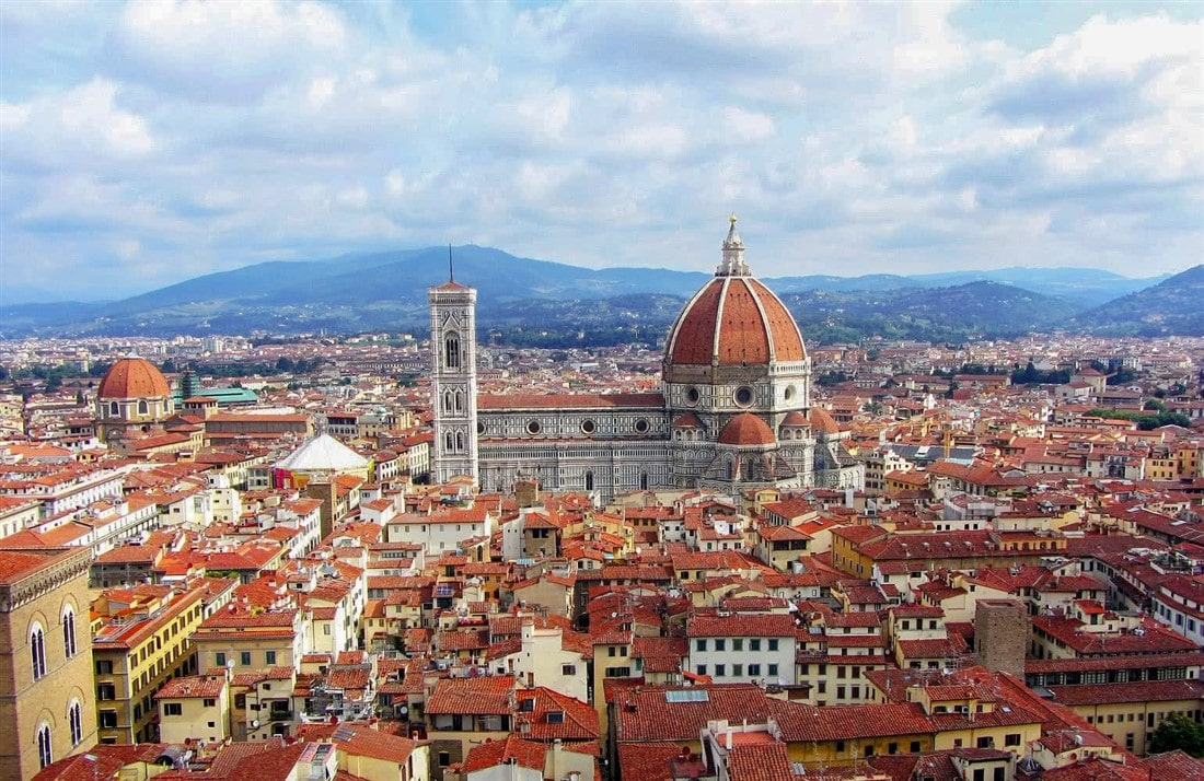Florence Italy City View