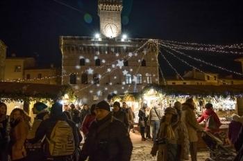 Christmas Village in Montepulciano
