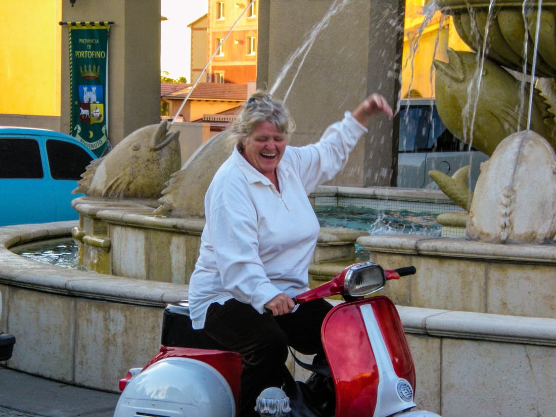 Fun experience renting a vespa in Montepulciano