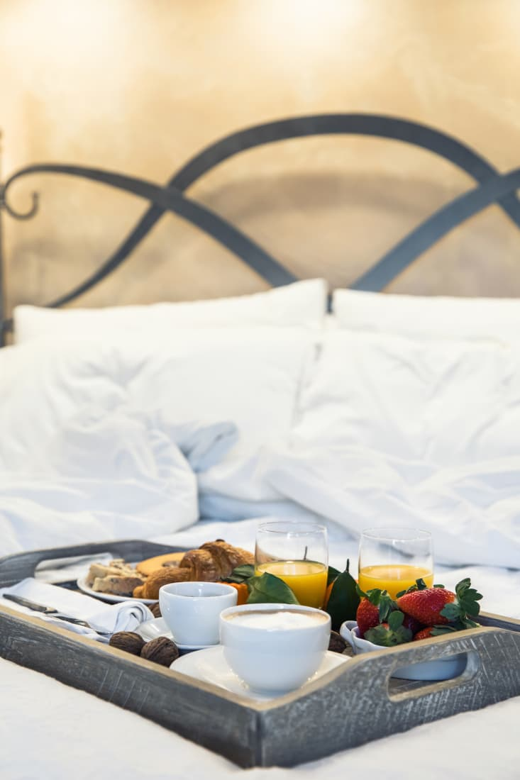 Breakfast in Bed at Fonte Martino