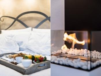 Montepulciano Suite Breakfast in bed