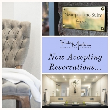 Fonte Martino Now Accepting Reservations