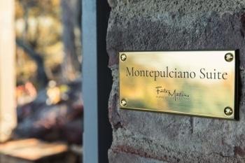 Montepulciano Suite Brass Nameplate