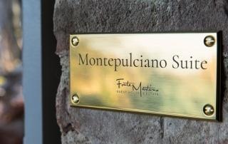 Montepulciano Suite Nameplate
