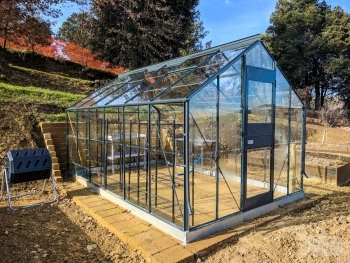 Glass Greenhouse at Fonte Martino