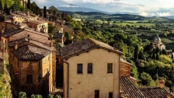 montepulciano destination view of san biagio small