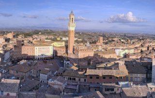 Siena Mit seiner großartigen Piazza und dem beeindruckenden Dom-Tagesausflug