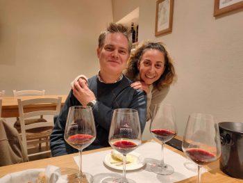 Innocenti Winery David and Patrizia