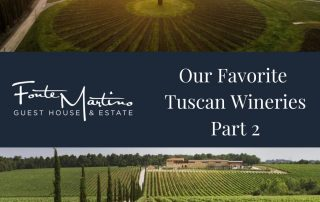 Our Favorite Tuscan Wineries – Part 2