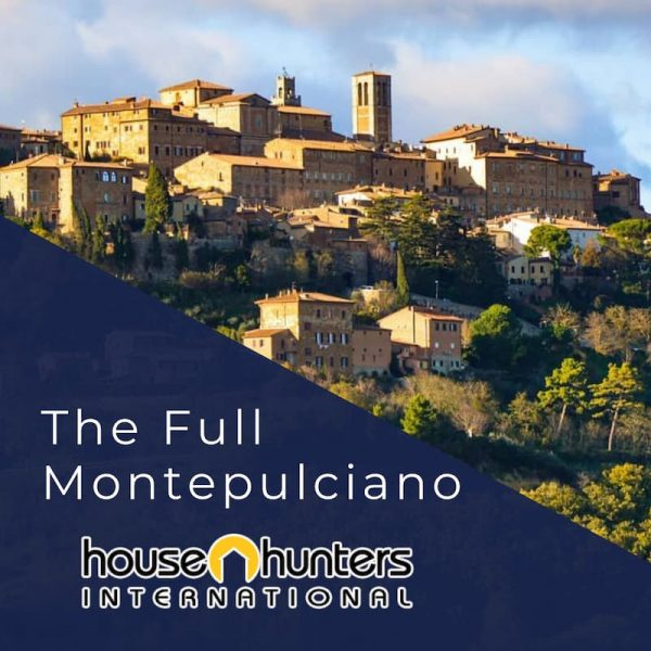 HGTV House Hunters International Toscane, Italie Le Plein Montepulciano